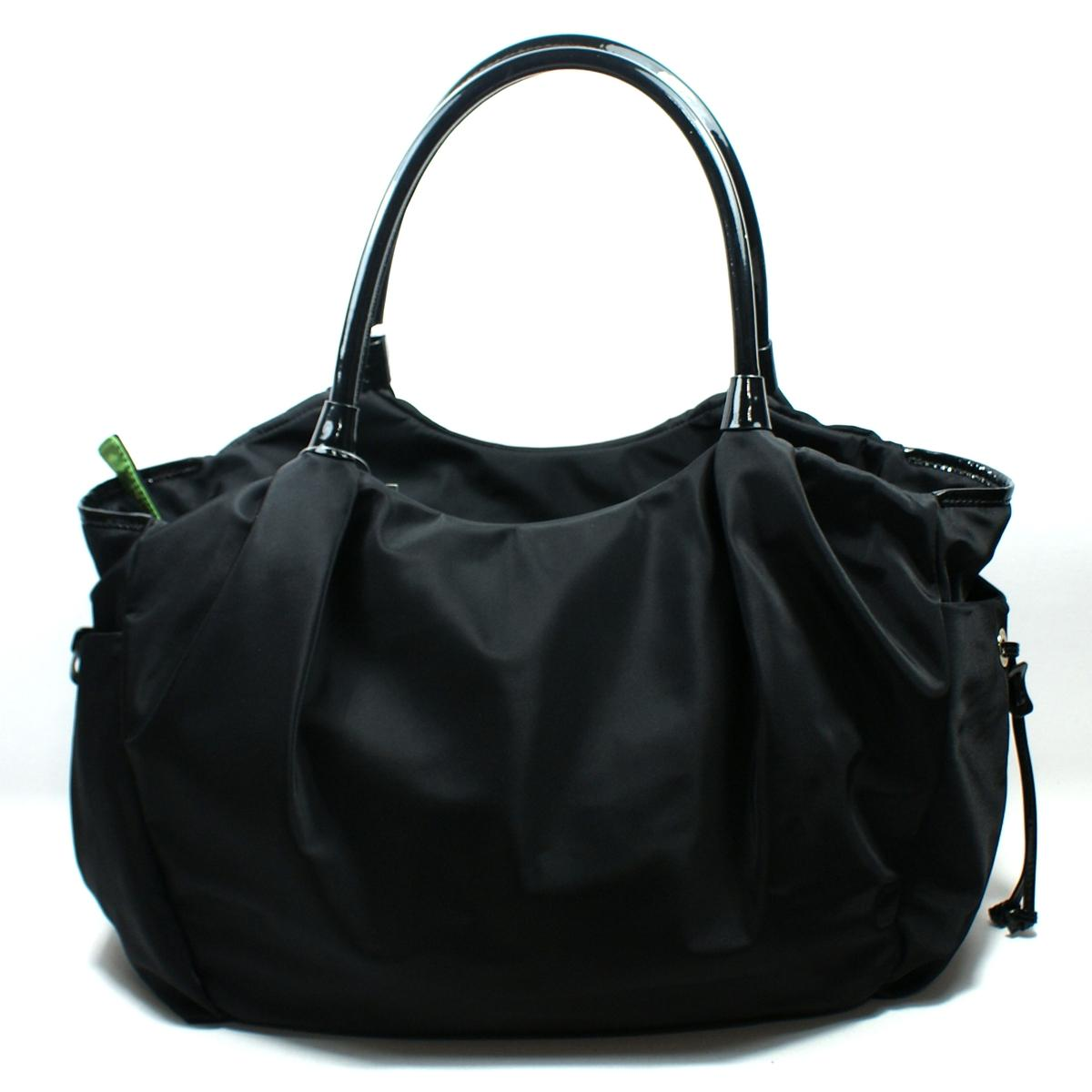 Marc Jacobs Nylon Biker Baby Weekender Bag, Black.