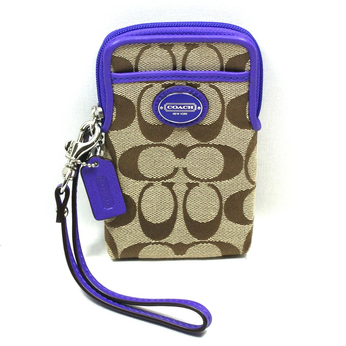 iphone 5 wristlet coach legacy signature universal wristlet iphone 5 11067