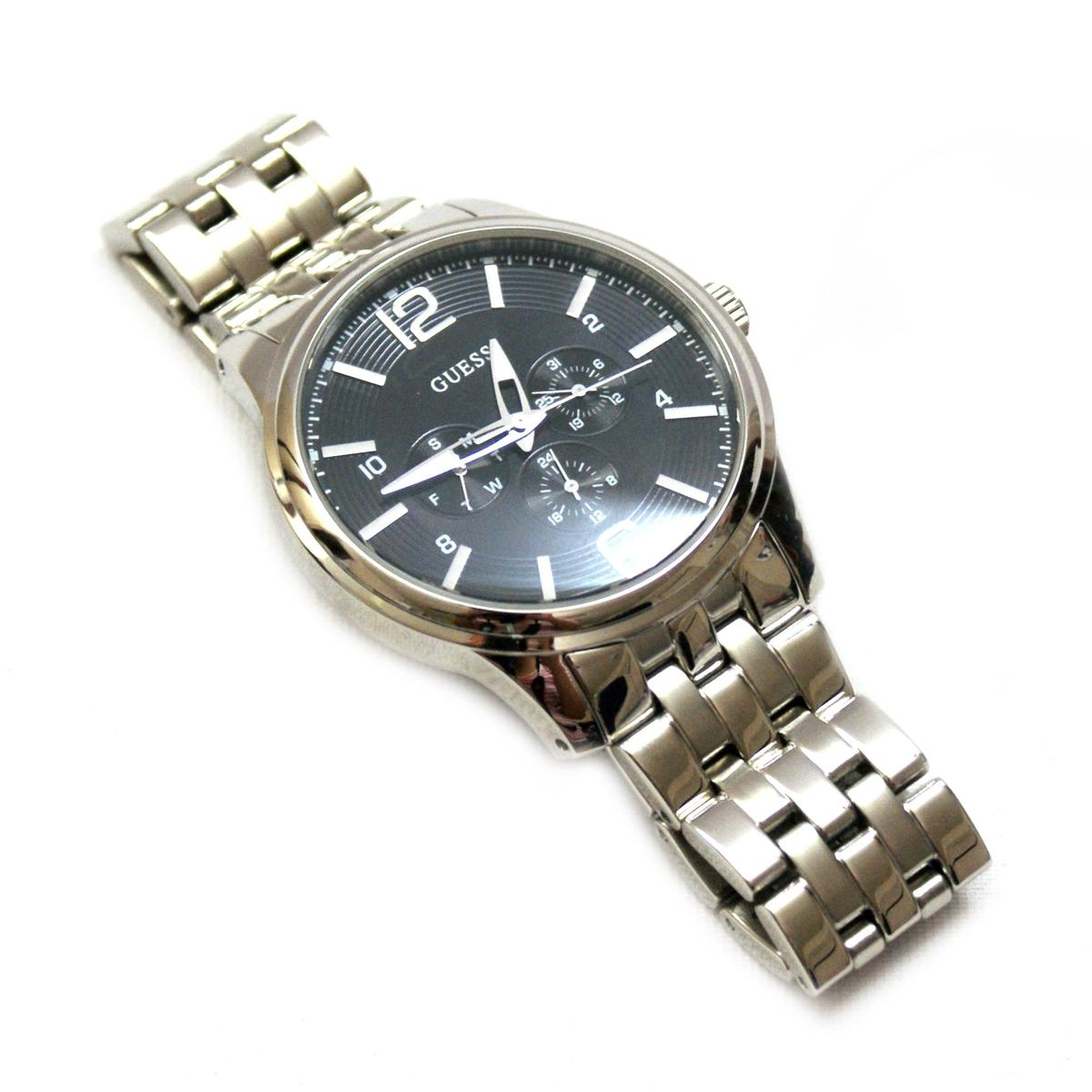 Guess Guess Steel Stainless Steel Mens Watch U11685g2