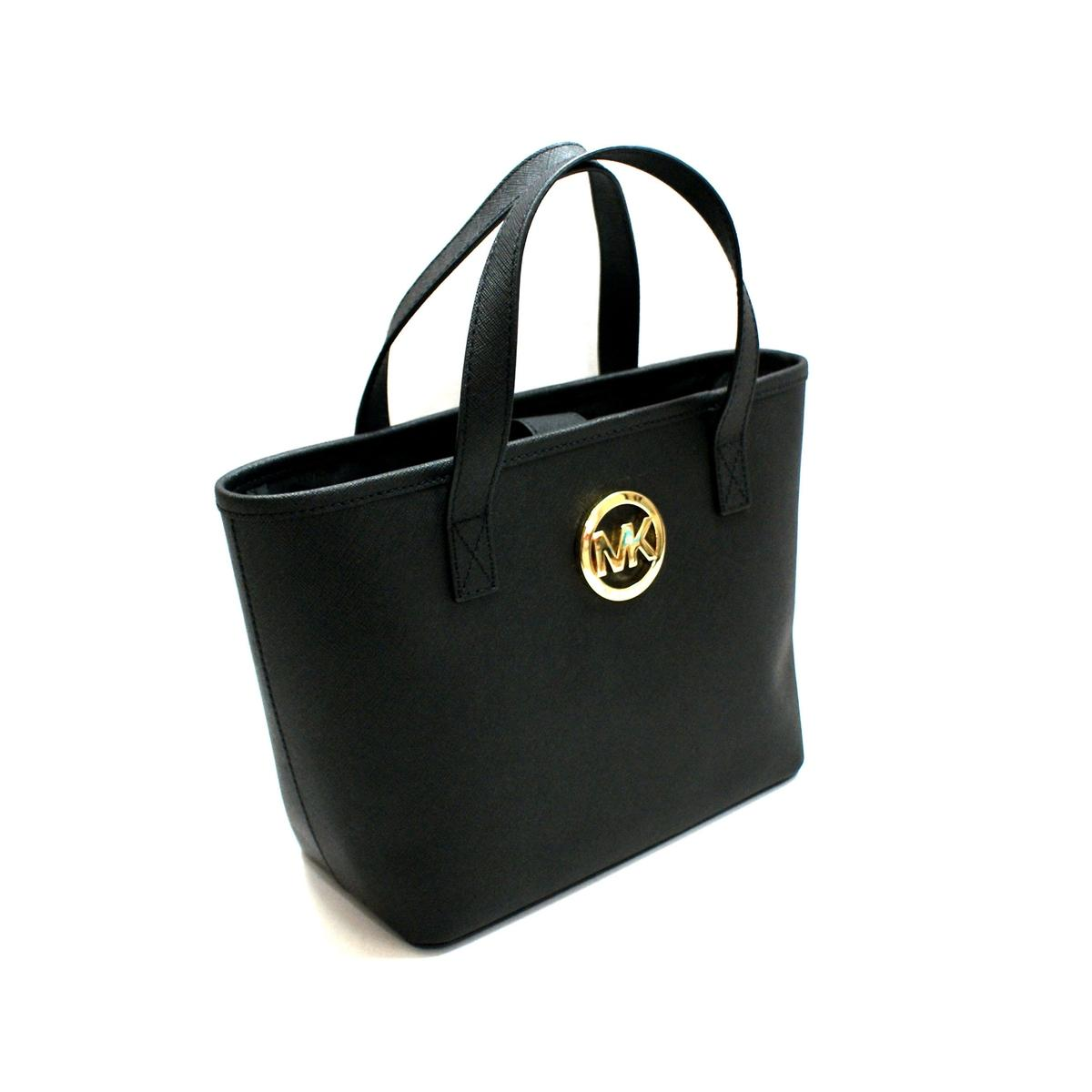 af837a5e04fa6 ... australia home michael kors jet set xs small travel tote black. click  thumbnail to zoom