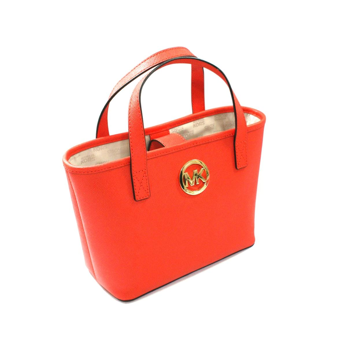 32342bca97322 ... cheap home michael kors jet set xs small travel tote mandarin. click  thumbnail to zoom