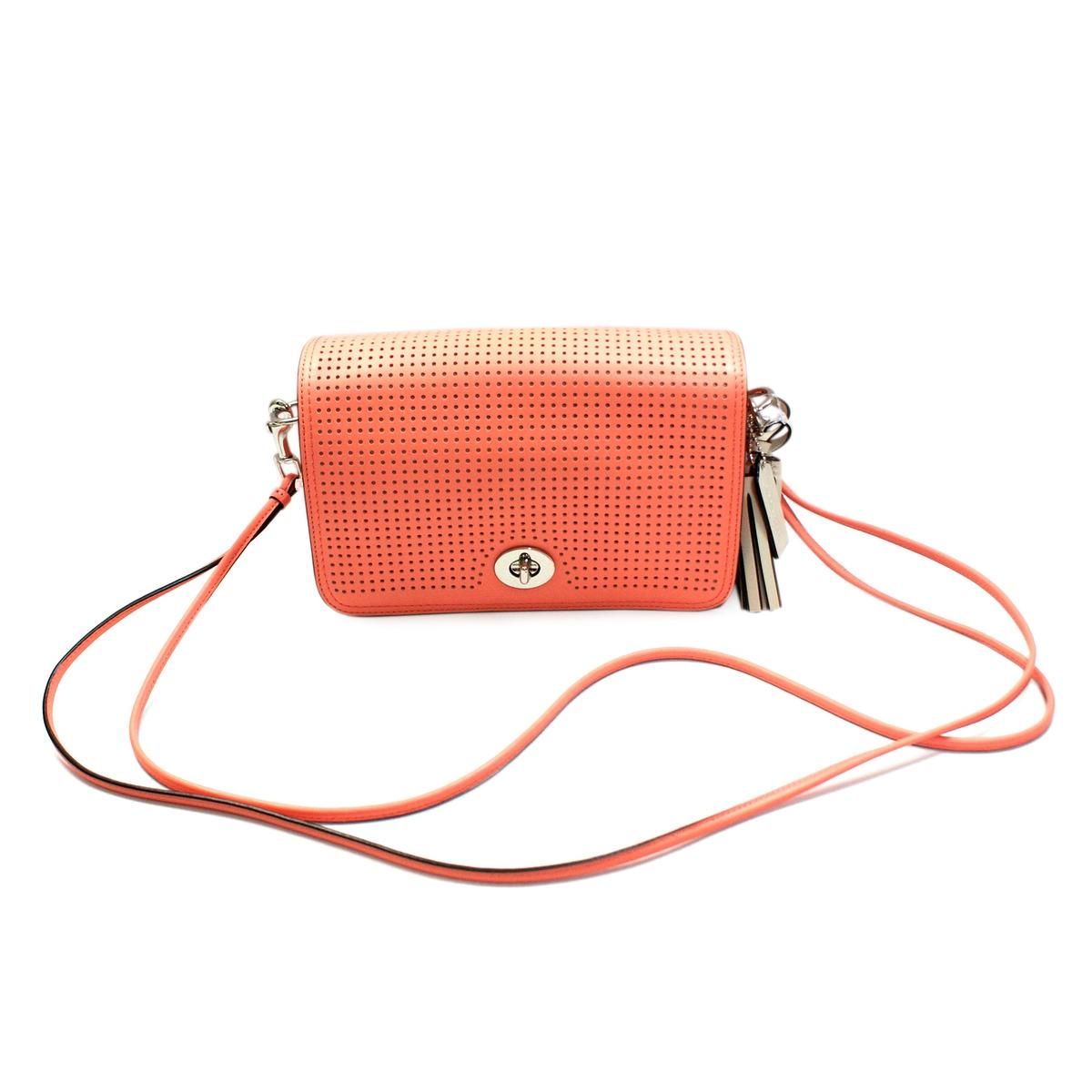 ... best price home coach legacy perforated leather penelope swing  crossbody bag large clutch. click thumbnail 45ea188961266