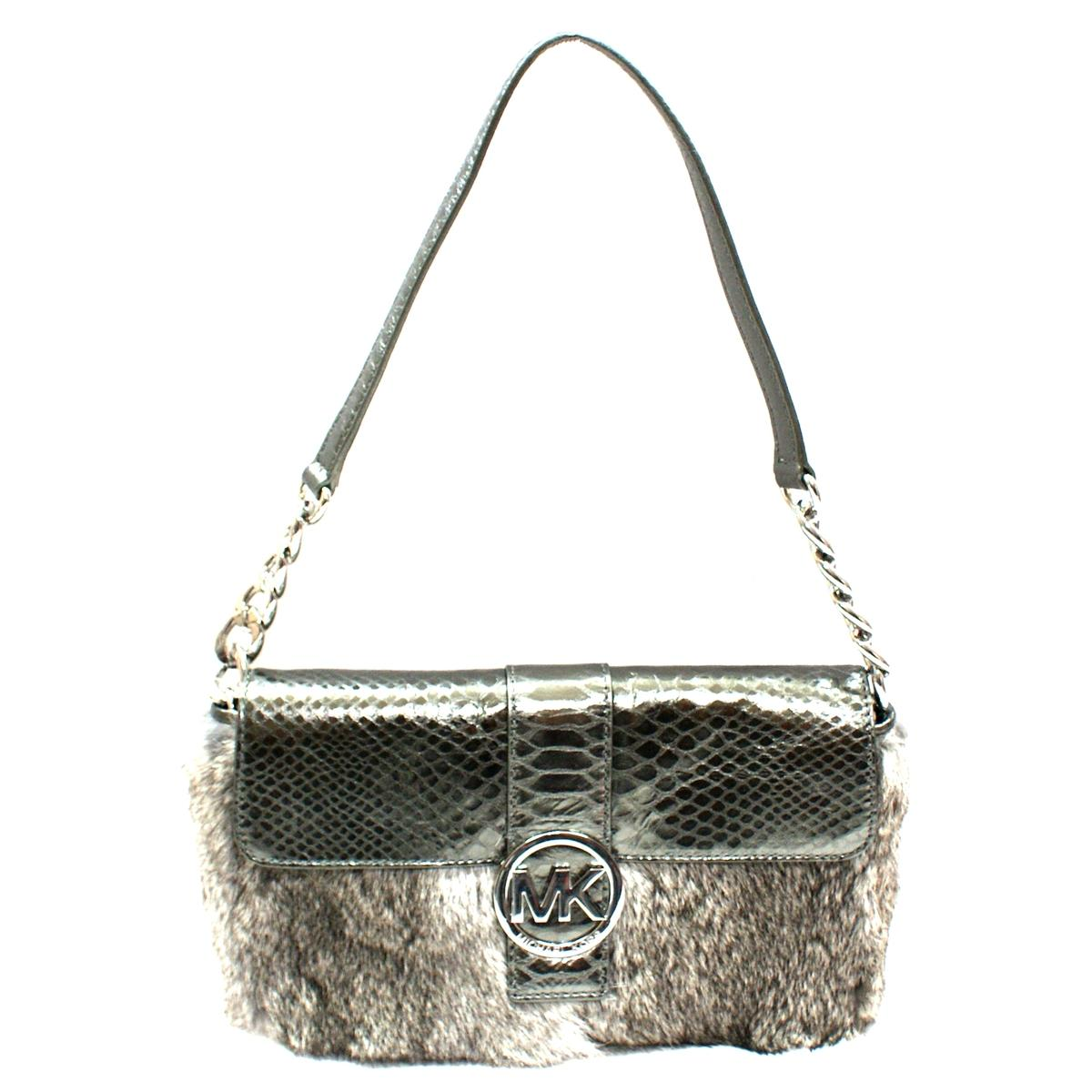 Michael Kors Fur Shoulder Bag 31