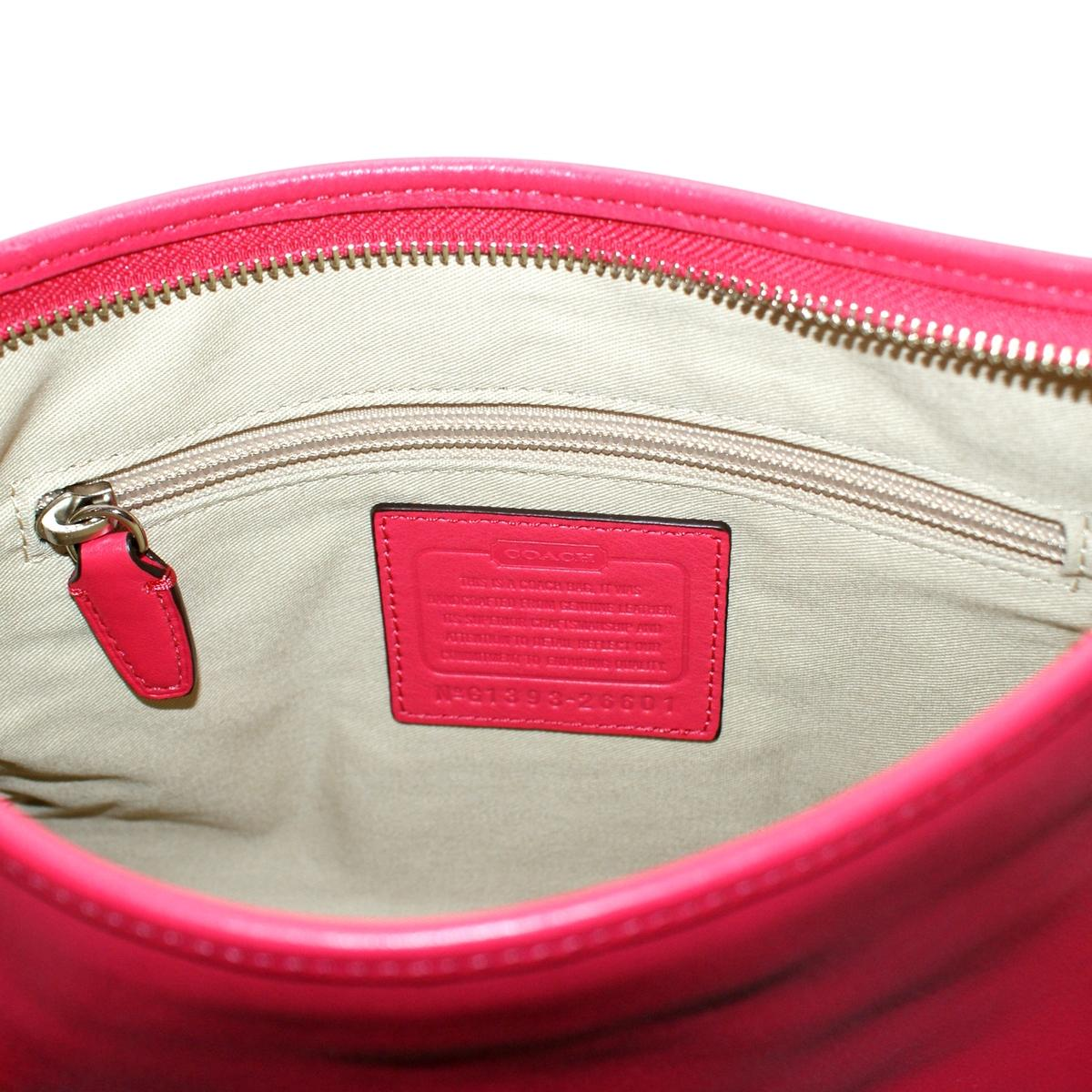 Home · Coach · Legacy Leather Double Gusset Leather Handbag  Crossbody Pink  Scarlet. CLICK THUMBNAIL TO ZOOM. Found ... d2a5f313f64f1
