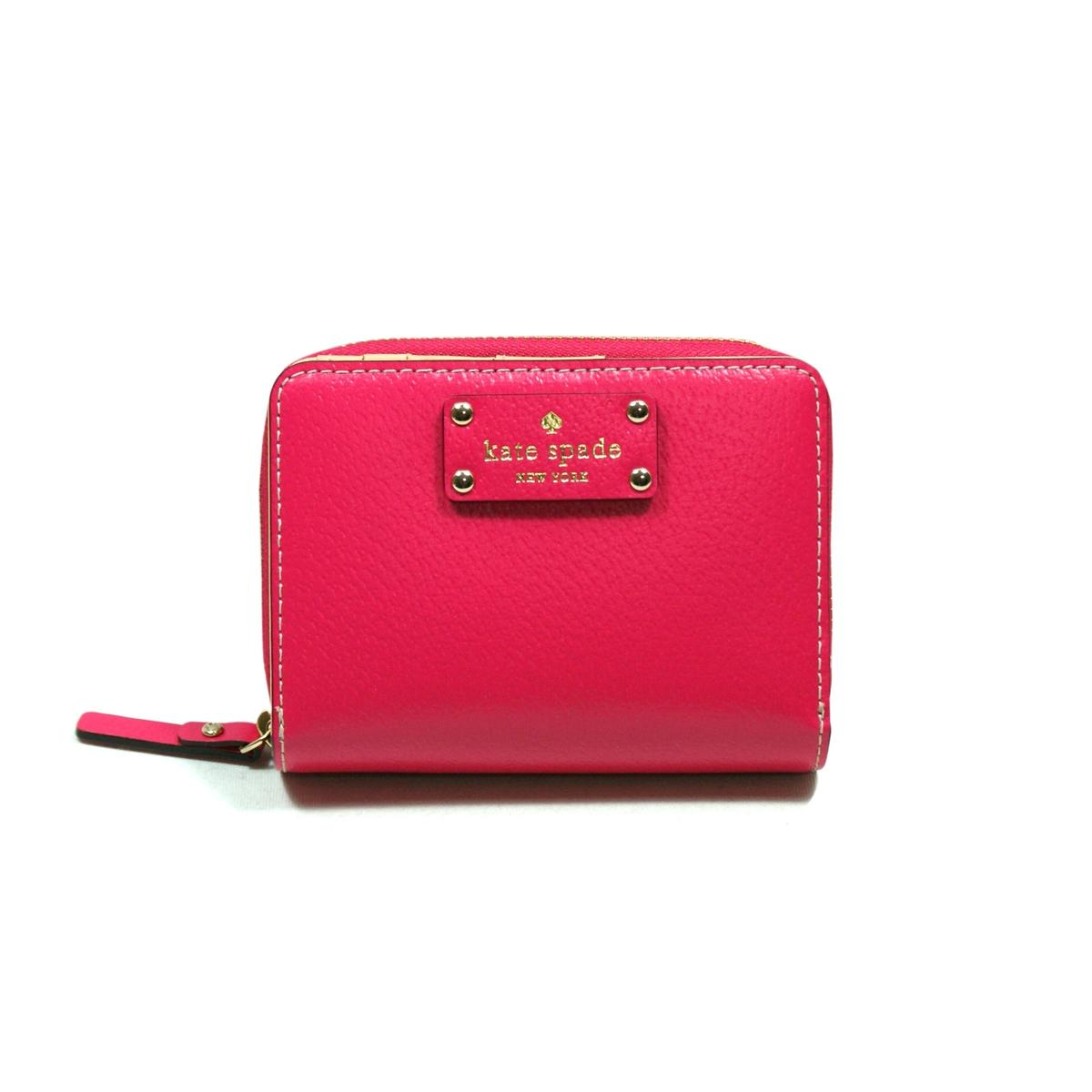Kate Spade Cara Wellesley Small Wallet Deep Pink Wlru1745