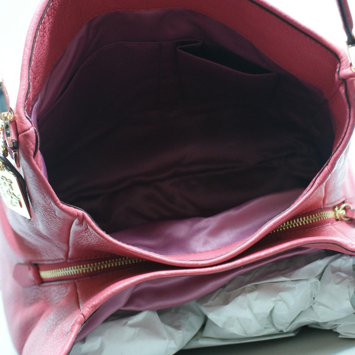 ... switzerland home coach madison leather small phoebe shoulder bag  loganberry. click thumbnail to zoom. ... 8274c576e4