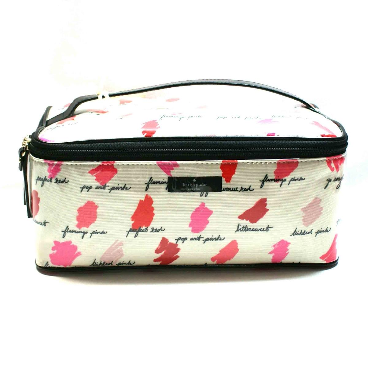 Home Kate Spade Large Colin Lilac Court Cosmetic Bag Lipsticks Click Thumbnail To Zoom Found
