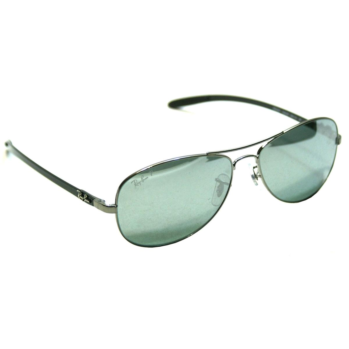 68848243d4 Ray-ban Aviator Polarized Sunglasses Silver 59