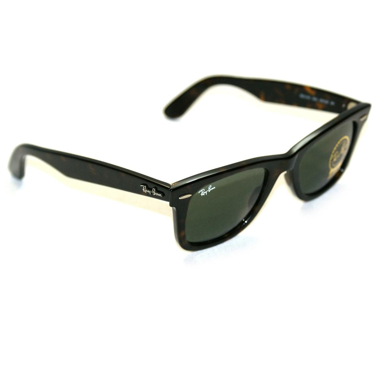 Ray Ban Wayfarer Sunglasses Dark Brown
